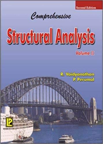 Comprehensive Structural Analysis Volume 2  ISBN 9788170088912