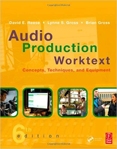 Audio Production Worktext Concepts,Techniques,and Equipment  ISBN 9780240810980