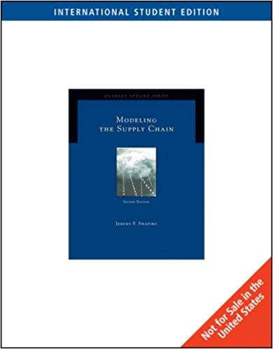 Modeling the Supply Chain, International Edition (Ise)  ISBN 9780495126119