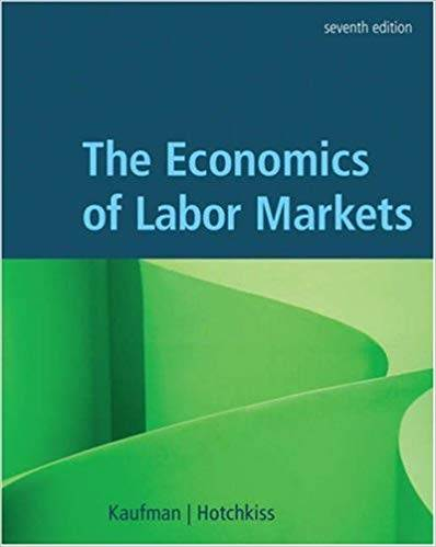 The Economics of Labor Markets  ISBN  9780324288797
