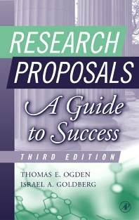 Research Proposals   : A Guide to Success  3rd Edition  ISBN  9780125247337