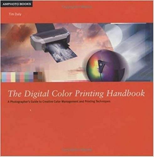 The Digital Color Printing Handbook  ISBN  9780817471552