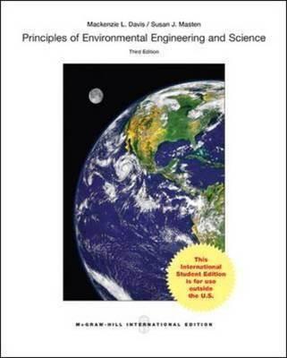 Principles of Environmental Engineering  Science  ISBN  9781259060472