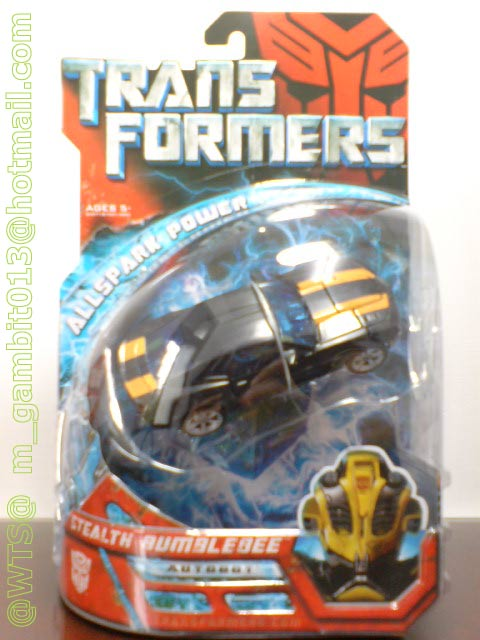 TRANSFORMER DX STEALTH BUMBLEBEE [SOLD OUT]