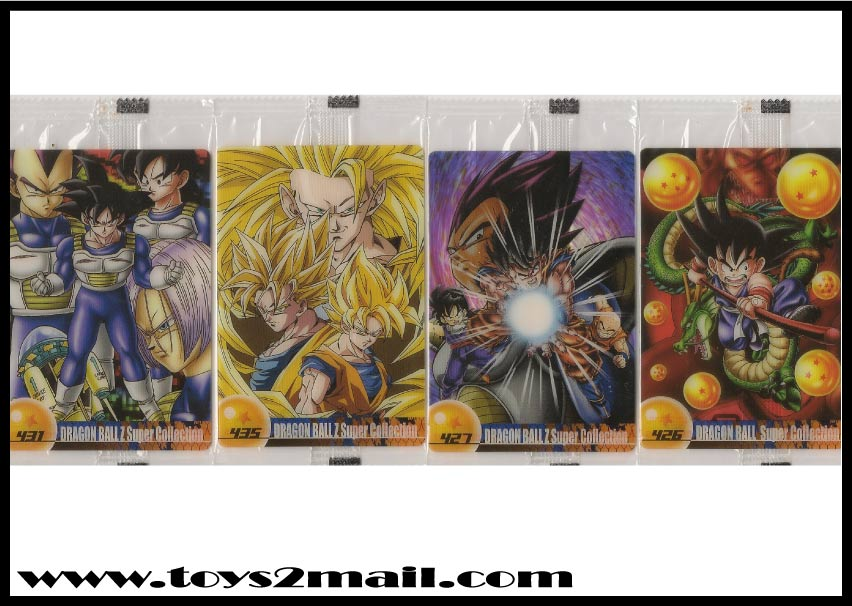 CARD COLLECTION : DRAGONBALL Z SUPERCOLLECTION CELL CARD Japan [SOLD OUT]