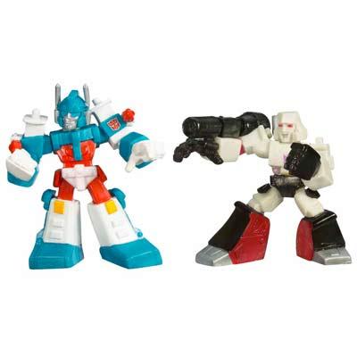 TRANSFOMER : ROBOT HEROS ULTRA MAGNUS & MEGATRON [1]