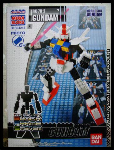 GUNPLA : RX-78-2 GUNDAM MEGA BLOKS Bandai [SOLD OUT]