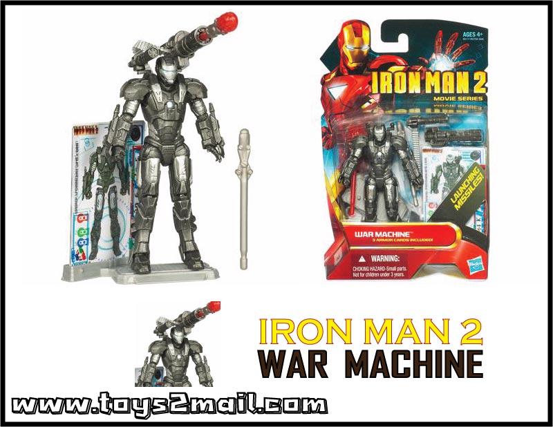 MARVEL : IRON MAN MOVIE 2 : รุ่น 4นิ้ว WAR MACHINE [SOLD OUT]