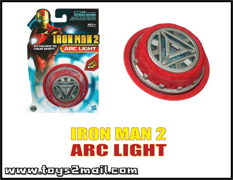 MARVEL : IRON MAN MOVIE 2 : IRON MAN MARK III ARC LIGHT [SOLD OUT]