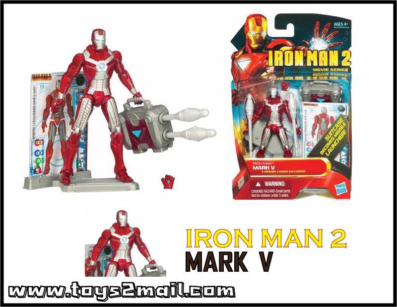 MARVEL : IRON MAN MOVIE 2 : รุ่น 4นิ้ว IRON MAN MARK V [SOLD OUT]
