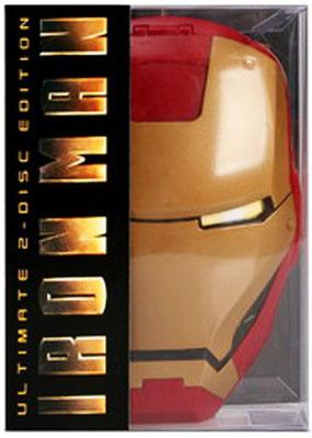 MARVEL HERO : IRON MAN MOVIE 1 DVD SPECIAL MASK BOX SET [RARE] [1]