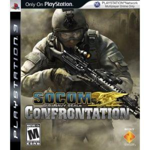 PS3 : SOCOM : CONFRONTATION  [USED] [ENGLISH] [ZONE 3] [A] [1]