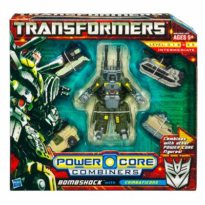 TRANSFORMER 2010 : POWER CORE : BOMBSHOCK with COMEATICON [1]
