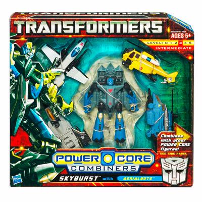 TRANSFORMER 2010 : POWER CORE : SKYBURST with AERIALBOTS [ORDER]