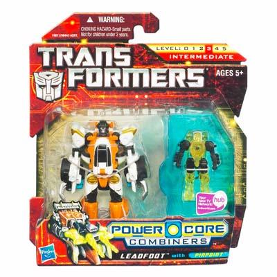 TRANSFORMER 2010 : POWER CORE : COMBINERS LEADFOOT with PINPOINT [ORDER]