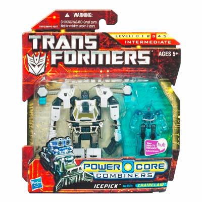 TRANSFORMER 2010 : POWER CORE : COMBINERS ICEPICK with CHAINCLAW [ORDER]
