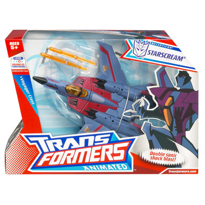 TRANSFORMER ANIMATED VOYAGER STARSCREAM [SOLD OUT]