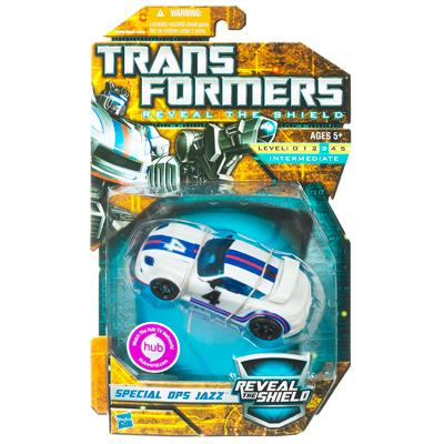 TRANSFORMER 2011 : REVEAL THE SHIELD : DX SPECIAL OPS. JAZZ [2]