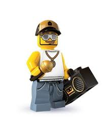 LEGO : LEGO MINI FIGURE SERIES 3 : RAPPER [SOLD OUT]