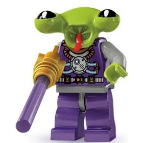 LEGO : LEGO MINI FIGURE SERIES 3 : SPACE ALIEN [SOLD OUT]