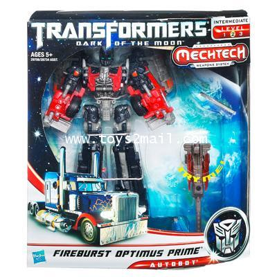 TF 3 DOTM : VOYAGER CLASS : FIREBRUST OPTIMUS PRIME [SOLD OUT]