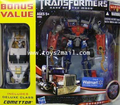 TF 3 DOTM : VOYAGER OPTIMUS + DX COMETTOR สินค้า EXCLUSIVE จากห้าง Walmart [SOLD OUT]