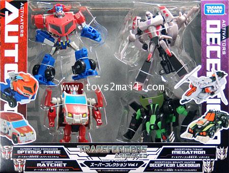 TF ANMATED : ACTIVATOR SUPER SET VOL 1 TAKARA [SOLD OUT]