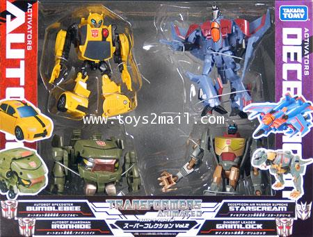 TF ANMATED : ACTIVATOR SUPER SET VOL 2 TAKARA [SOLD OUT]
