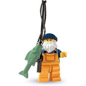 LEGO : LEGO MINI FIGURE SERIES 3 : FISHERMAN [SOLD OUT]