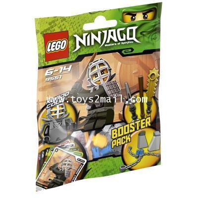 LEGO : 9551 LEGO NINJAGO KENDO COLE BOOSTER PACK [3]