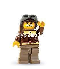 LEGO : LEGO MINI FIGURE SERIES 3 : PILOT นักบินรุ่นเก๋า [SOLD OUT]