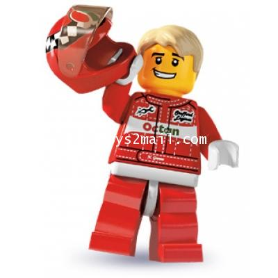 LEGO : LEGO MINI FIGURE SERIES 3 : RACER CAR DRIVER [SOLD OUT]