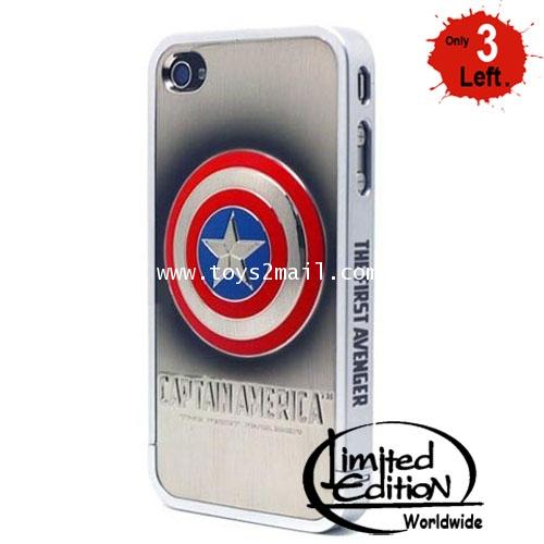 CAPTAIN AMERICA : CAPTAIN AMERICA I-PHONE4 CASE LIMITED EDITION [SOLD OUT]