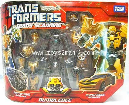 TRANSFORMER MOVIE : TRANS SCANNING BUMBLEBEE [SOLD OUT]