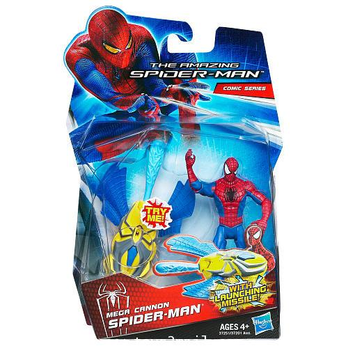 THE AMAZING SPIDER-MAN : MEGA CANNON SPIDER-MAN รุ่น 3.75 นิ้ว [SOLD OUT]