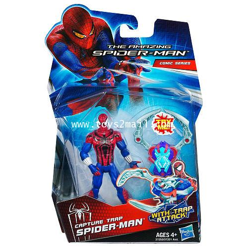 THE AMAZING SPIDER-MAN : CAPTURE TRAP SPIDER-MAN รุ่น 3.75 นิ้ว [SOLD OUT]