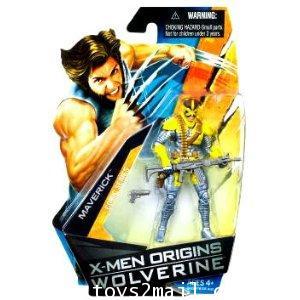 X-MEN ORIGINS WOLVERINE : 3.75 นิ้ว MAVERICK Comic series ตัวนี้หายากครับ [1]