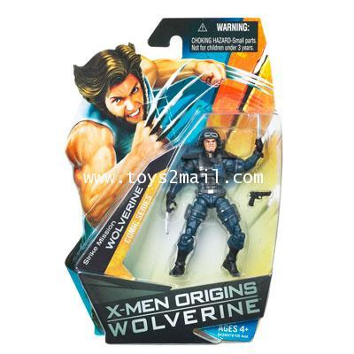 X-MEN ORIGINS WOLVERINE : 3.75 นิ้ว MISSION STRIKE WOLVERINE Comic series ตัวนี้หายากครับ [1]