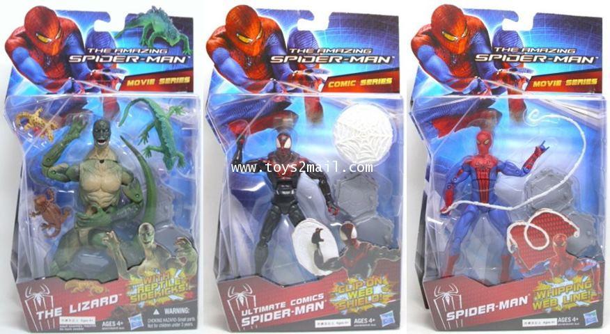 THE AMAZINF SPIDER-MAN : AMAZING SPIDER-MAN รุ่น 6 นิ้วจุดขยับเทพพิเศษจาก Walmart [1]