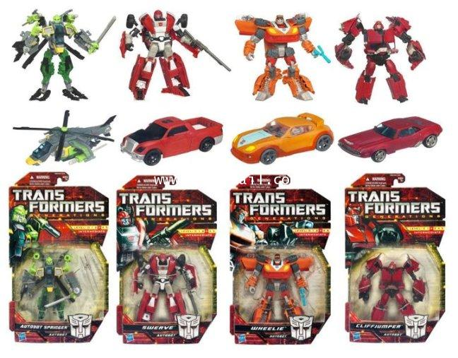 TF GENERATIONS : TF GENERATIONS 2012 DX ASIA EXCLUSIVE ครบชุด 4 แบบ [ORDER]
