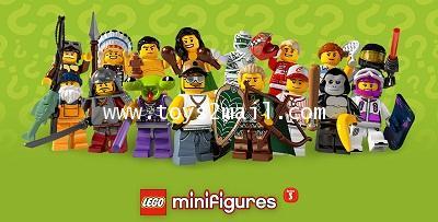 LEGO : LEGO MINI FIGURE SERIES 3 ซองสีเขียว สินค้าชุด LIMITED EDTION [SOLD OUT]