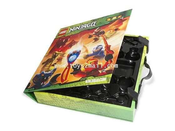 LEGO NINJAGO : 853409 Ninjago Spinner Storage Box Exclusive กล่องเก็บมินิฟิกเกอร์ นินจาโก [SOLD OUT]