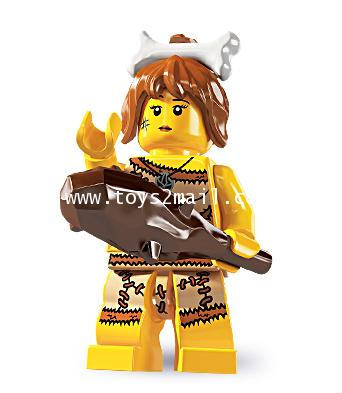 LEGO : LEGO MINI FIGURE SERIES 5 : No.5 CAVE GIRL สาวมนุษย์หิน [SOLD OUT]