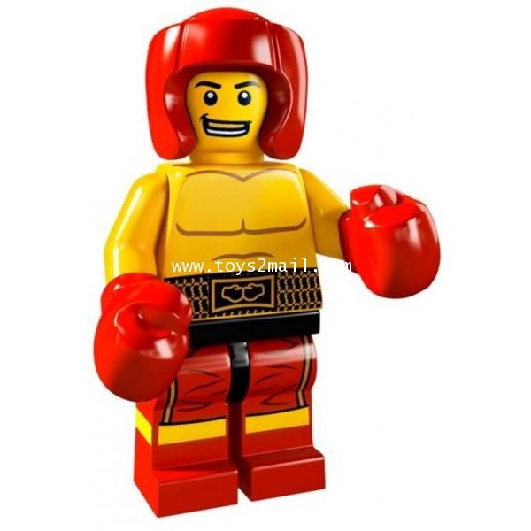 LEGO : LEGO MINI FIGURE SERIES 5 : No.13 BOXER RED CONNER [SOLD OUT]