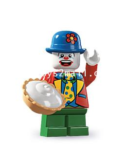 LEGO : LEGO MINI FIGURE SERIES 5 : No.9 SMALL CLOWN ตัวตลกเตี้ย [SOLD OUT]