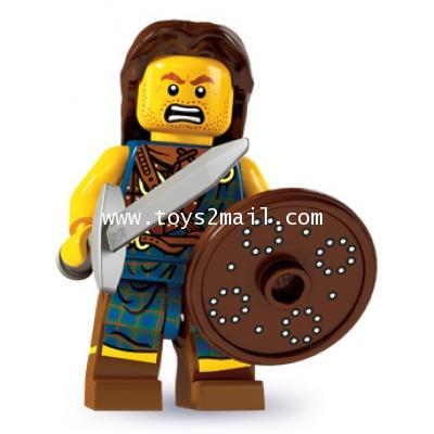 LEGO : LEGO MINI FIGURE SERIES 6 : No.2 Highland Battler นักรบสต๊อตแลนด์ [2]