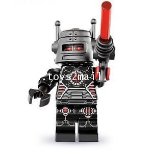 LEGO : LEGO MINI FIGURE SERIES 8 : No.01 EVIL ROBOT หุ่นยนต์ผู้ชั่วร้าย [RARE] [1]