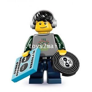 LEGO : LEGO MINI FIGURE SERIES 8 : No.12 DJ ดีเจหนุ่ม [SOLD OUT]