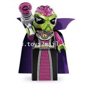 LEGO : LEGO MINI FIGURE SERIES 8 : No.16 EVIL ALIEN ผู้นำเอเลี่ยนผู้ชั่วร้าย [RARE] [SOLD OUT]