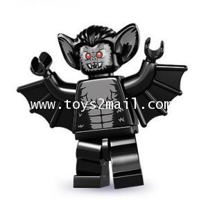 LEGO : LEGO MINI FIGURE SERIES 8 : No.11 VAMPIRE BAT ค้างคาวผีดูดเลือด [RARE] [1]